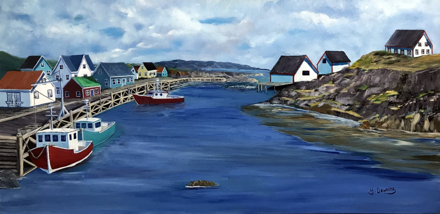 Yves Downing - Peggys Cove