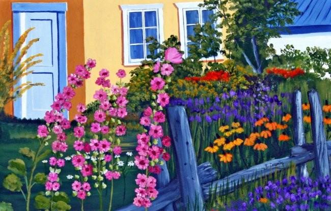 Yves Downing - Un jardin fleurie pour Mélanie