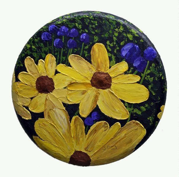 Yves Downing - fleurs et jardins