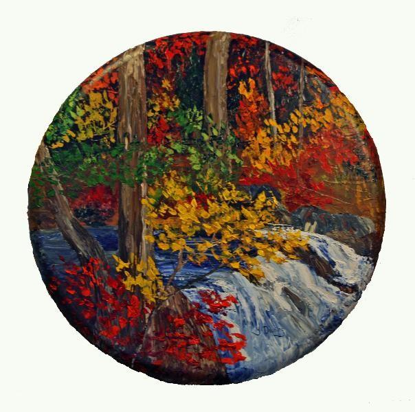 Yves Downing - La Boulée en automne