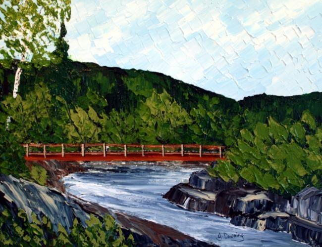 Yves Downing - La rivière du Milieu