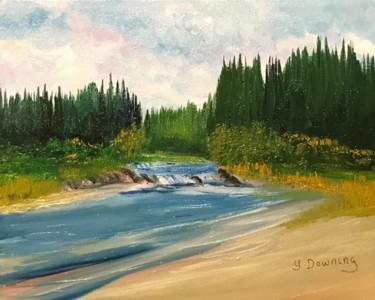 La rivière du Milieu à la Manouane