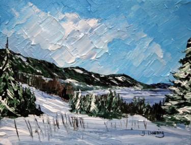 Le golf de Pointe au Pic en janvier