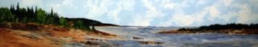 L'embouchure de la Rivière Rapide à Sept-Îles