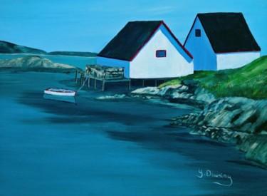 Les hangars de Peggy's Cove